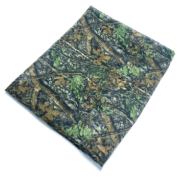 150cm width Forest Camouflage Cloth Jungle Camo Fabric Raw Material for Ghillie Suits Hunting Clothes Wrap Accessory breathable jungle bionic camo clothes wild hunting suits for hunter oem factory