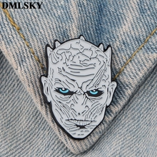 DMLSKY Game of thrones Enamel Pins and Brooches Women and Men Lapel Pin Backpack Badge Tie Pin Hat Pins Jewelry M3795 цена