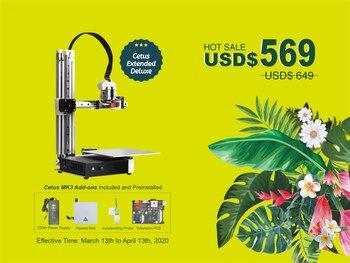 Tiertime MK3 Extended Deluxe 3D Printer