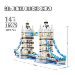 Image 2 - Mini Blocchi di Diamante Architettura Mattoni Giocattolo della Cattedrale di San Basilio Taj Mahal Bambini Compatibile Città Regali