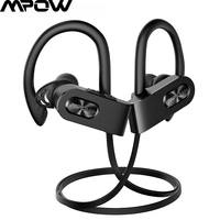 Mpow Flame2 Wireless Sport Headphones Bluetooth 5.0 Earphone CVC6.0 Noise Cancelling Earbuds IPX7 Waterproof with Mic For iphone|Bluetooth Earphones & Headphones|   -