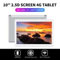 Barato https://ae01.alicdn.com/kf/H646c1cc0d1d6426c806c0a2b5de6a6e1B/Nuevo diseño LEORY 10 1 pulgadas 2 5D Arc tableta Android 7 0 6G 128G 800W.jpg