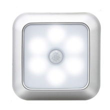 Closet-Lamp Light Battery-Powered Motion-Sensor Stairs Under-Cabinet LED Pir Induction