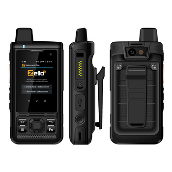 UNIWA B8000 IP68 Waterproof POC Walkie Talkie 2.4'' Touch Screen Android 8.1 Quad Core 8GM ROM 4000mAh NFC Loud Speaker 4G LTE - discount item  17% OFF Mobile Phones