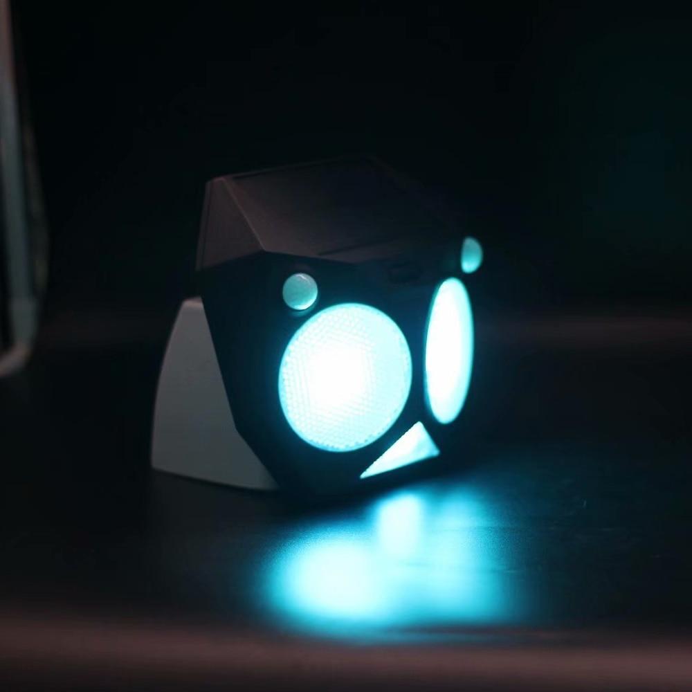 diodo emissor de luz solar lampada de sensor de movimento pir duplo de seguranca a prova