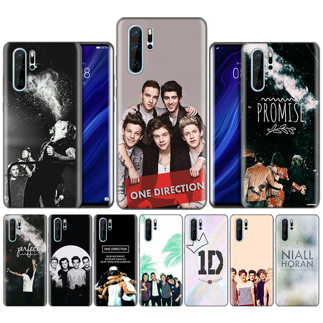 One Direction 1D Edward Black Silicone Case for Huawei P30 P20 P10 Mate 30 20 10 Lite Pro Coque Fundas Covers Shells Falls