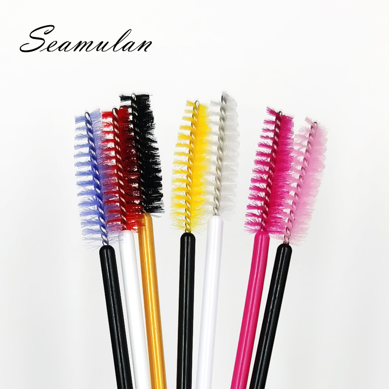 Extension Eyelash Disposable Eyebrow Brush Mascara Wand Applicator  Eye Lashes Cosmetic Brushes Set Makeup Tools For Beauty