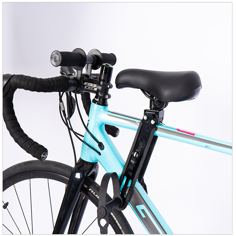 Bike Chair Child Bike Seat Front Saddle And Armrest Bicycle Frame Outdoor Parent-Child Seat Vehicle Bicycle Seat Aluminum Alloy