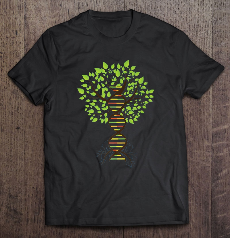 Genealogy Dna Tree T-Shirts