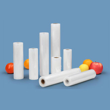 MAXFUTURE vacuum bags for food Vacuum Sealer Food Fresh Long Keeping 12+15+17+22+30cm*500cm 5 Rolls/Lot packer