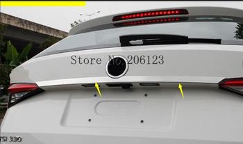 For Skoda Kodiaq 2017 2018 2019 1PCS REAR TRUNK COVER TRIM DECORATION GARNISH STRIM CAR STYLING