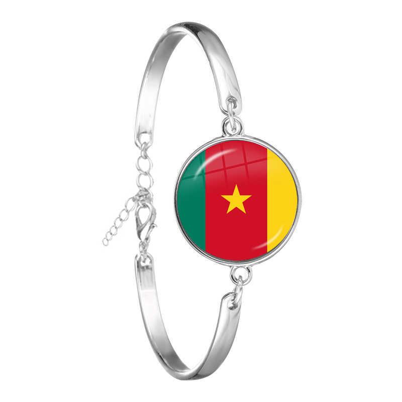 แอฟริกาใต้,โมซัมบิก,ไลบีเรีย,แคเมอรูน,Cape Verde,ปาปัวนิวกินี,แอลจีเรีย,เบลเยียม, โปรตุเกสธงแห่งชาติสร้อยข้อมือของขวัญ