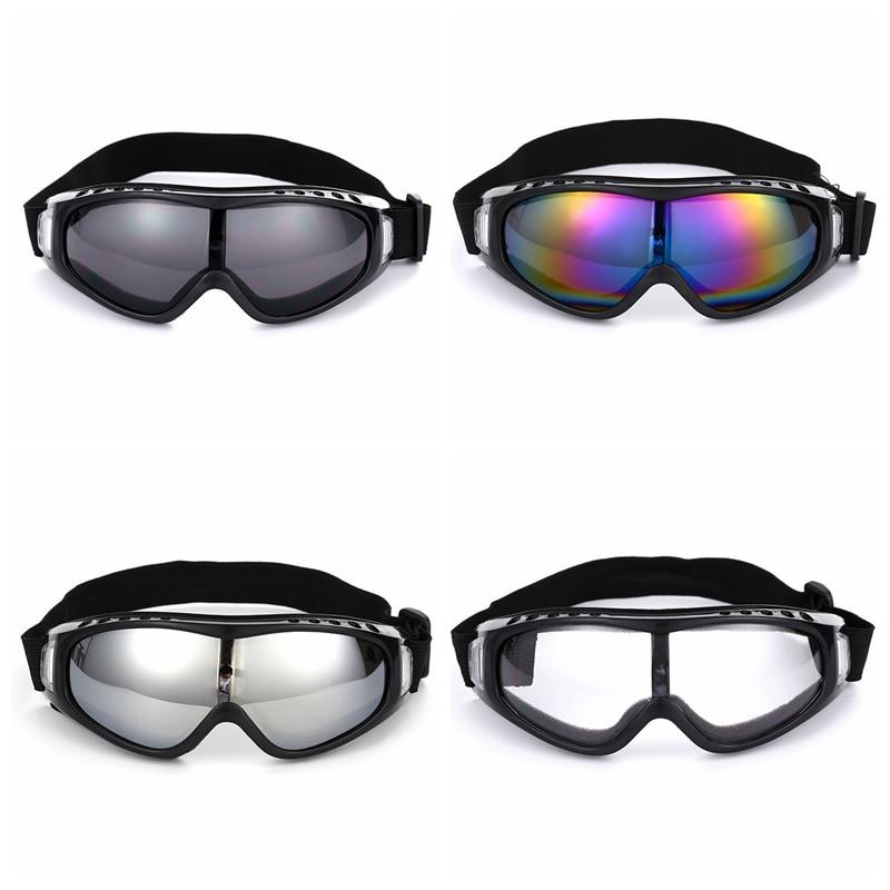 Protective Sports Skiing Goggles Eyewear UV Motorcycle Sunglasses Riding Running Eyewear Snowboard Anti-Glare Glasses