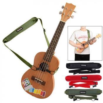 Guitar Strap  Colorful Ukulele Shoudler Breathable Cotton Punch-free Double Hook