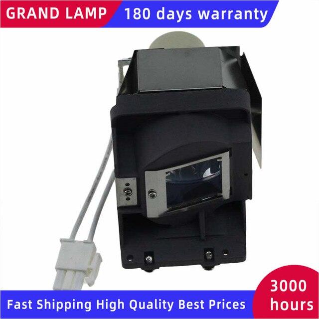 החלפת מנורה עם דיור 5J.J6L05.001 עבור BENQ EP6127A/ES616F/EX6270/MS276F/MS507H/MS517F/MX2770/MW519 מקרנים Happybate