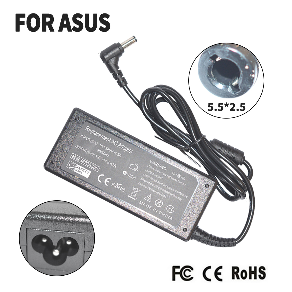 LAPTOP AC ADAPTER CHARGER FOR <font><b>TOSHIBA</b></font> 19V 3.42A PA3714U-1ACA FOR SATELLITE C655D C660 L300 L450 <font><b>L500</b></font> 1000 image