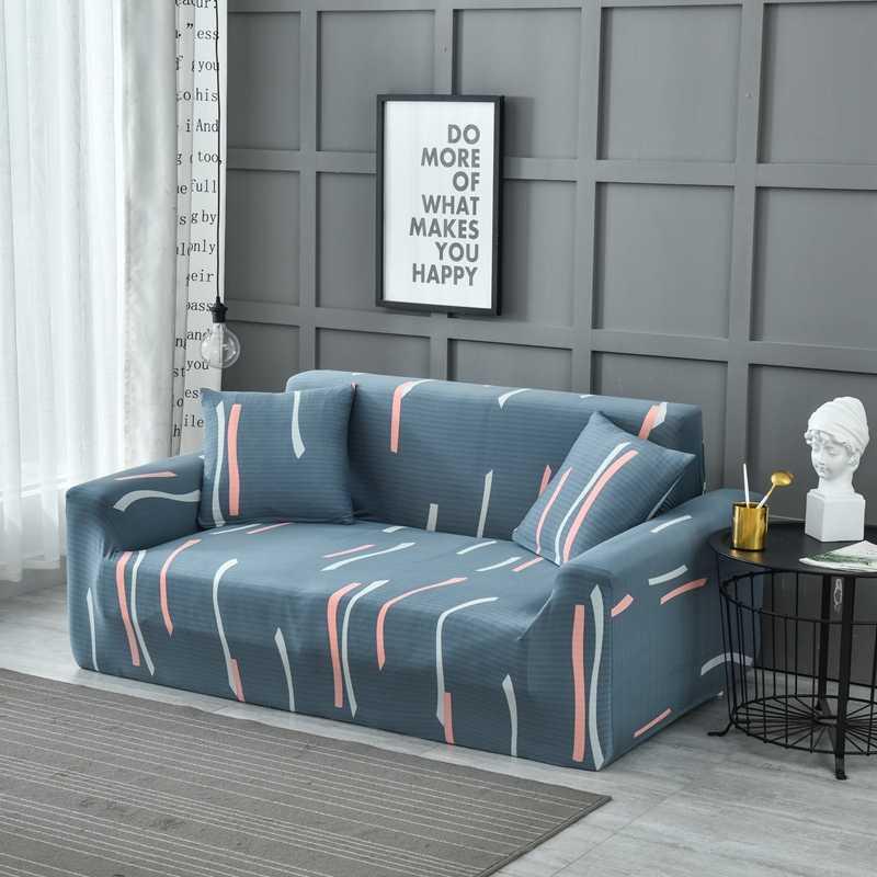 Elastis Sofa Cover Kursi Empuk Cover Sofa Covers untuk Ruang Tamu Sectional Sofa Sarung Kursi Furniture Cover
