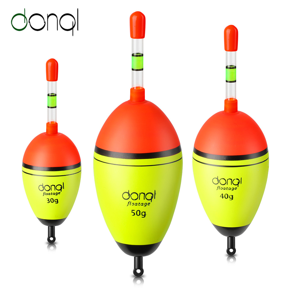 DONQL 1Pcs Night Glowing Fishing Floats 5Pcs Luminous Light Stick Accessories Sea Bobber Flotador Carp Fishing Tackle Fish Float(China)