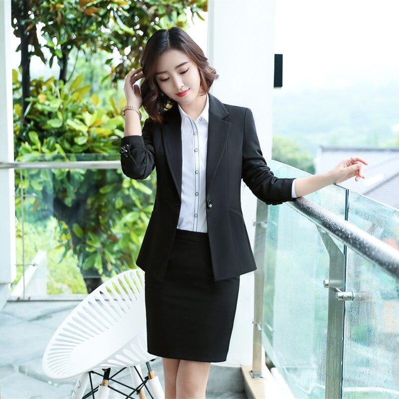 Female elegant business women's tops and blouses Pants suits office ladies blazer trouser woman work wear 2 pieces set Vest suit