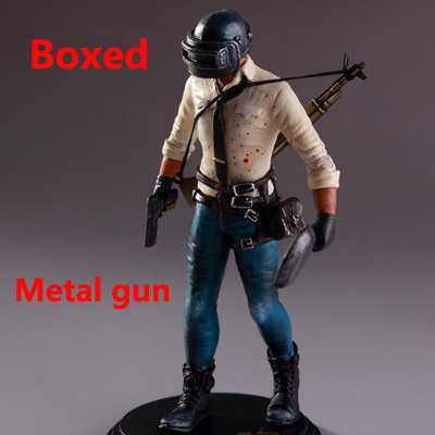 1pcs pubg Figure H1Z1 Player Unknown s Battle Grounds PUBG Model Doll PVC 17cm Game Figurine Action FigureAction & Toy Figures