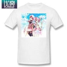Magia Record Japanese anime T Shirt Red T-Shirt 6xl Cute Tee Shirt Graphic Madoka
