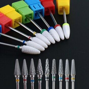 1pc Carbide Nail Drill Bit Electric Milling Cutter Burr Manicure Pedicure Drill Bits Apparatus Nail Files Pedicure Tools