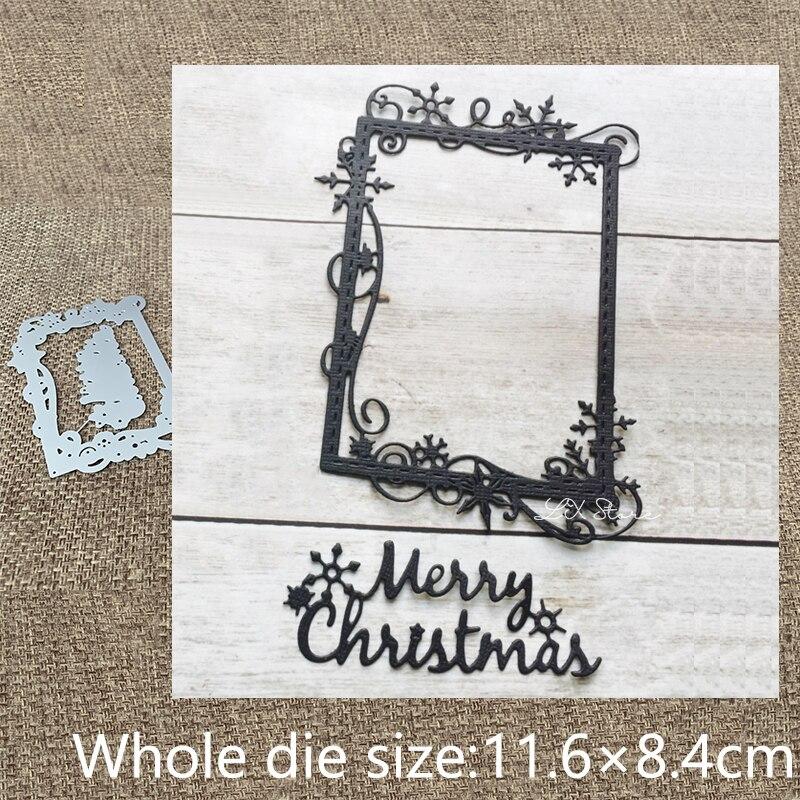 Металлический трафарет XLDesign для рукоделия, трафаретная форма для украшения рамки снежинки, альбом для скрапбукинга, бумажная карта для рукоделия, тиснение, высечки Вырубные штампы      АлиЭкспресс