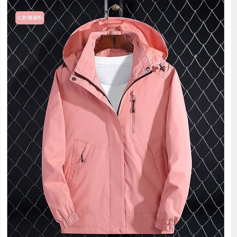 H646e92e19e6049a69a5cf5e44c865913I 2019 Brand Jacket Spring Autumn Women Long Jacket Female Casual Pink Coat Bomber Jacket Basic Outwear Loose Wind Coats clothes