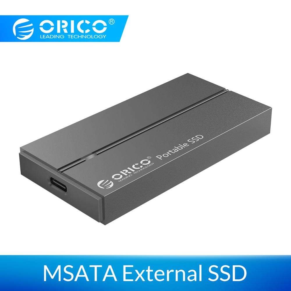 ORICO External Solid State Drive 1TB SATA MSATA NVME SSD 128GB 256GB 512GB Portable SSD 1TB For Office Work