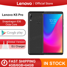Versión global Lenovo K5 Pro 6GB 64GB Snapdragon636 Octa Core