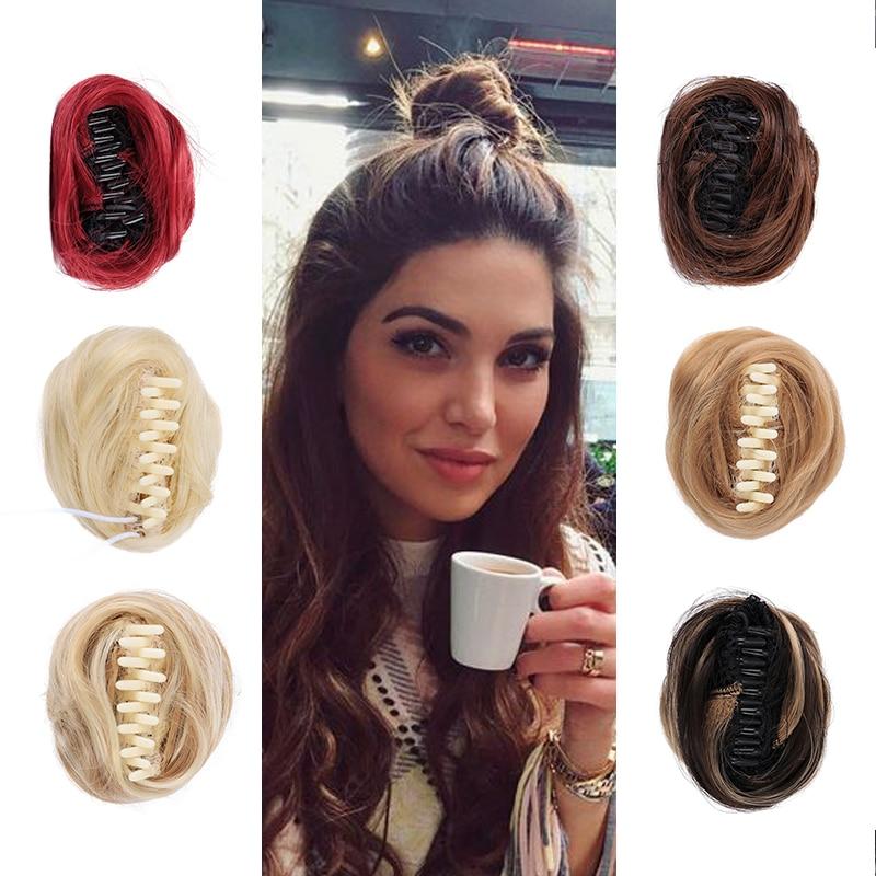 DIANQI самый красивый шиньон для волос синтетический женский парик для женщин