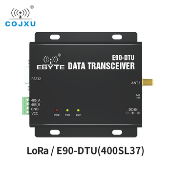 LoRa 433MHz SX1262 SX1268 37dBm RS232 RS485 RSSI COJXU E90-DTU(400SL37)  PLC Spread Spetrum Modem Transmitter Receiver