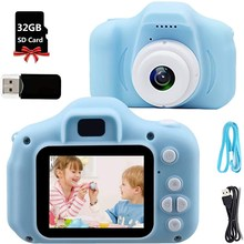 Toys Mini Camcorder-Toys Childrens for Kids Girls Gift Photo-Camera Video-Recorder 2inch