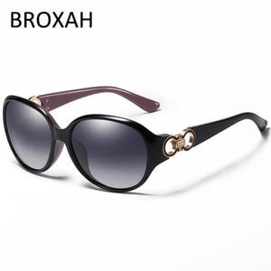 Fashion Polarized Sunglasses Women Brand