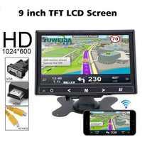 Auto Monitor 9 zoll TFT LCD monitor Für Rückansicht Reverse Kamera Mini TV Computer Display Spiegel Link Für Android iphone
