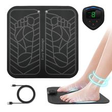 ANLAN Electric EMS Foot Massager ABS Physiotherapy Revitalizing Pedicure Vibrator Wireless Feet Muscle Stimulator Unisex