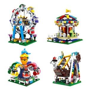 Image 5 - XINGBAO 01401/02 Genuine Building Blocks The Living House Set Building Bricks Educational Toys blocks With Figure toys