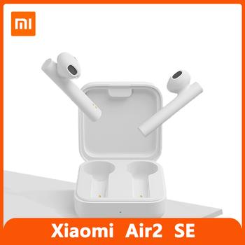 Xiaomi Air 2 SE słuchawki bezprzewodowe TWS 5 0 Bluetooth Mi oficjalne słuchawki Xiaomi Air2 SE zestaw słuchawkowy 2021 AirDots Pro 2 SE oryginalny tanie i dobre opinie Kapsułka douszne Dynamiczny CN (pochodzenie) wireless 123dB Słuchawki do monitora Do gier wideo Zwykłe słuchawki do telefonu komórkowego