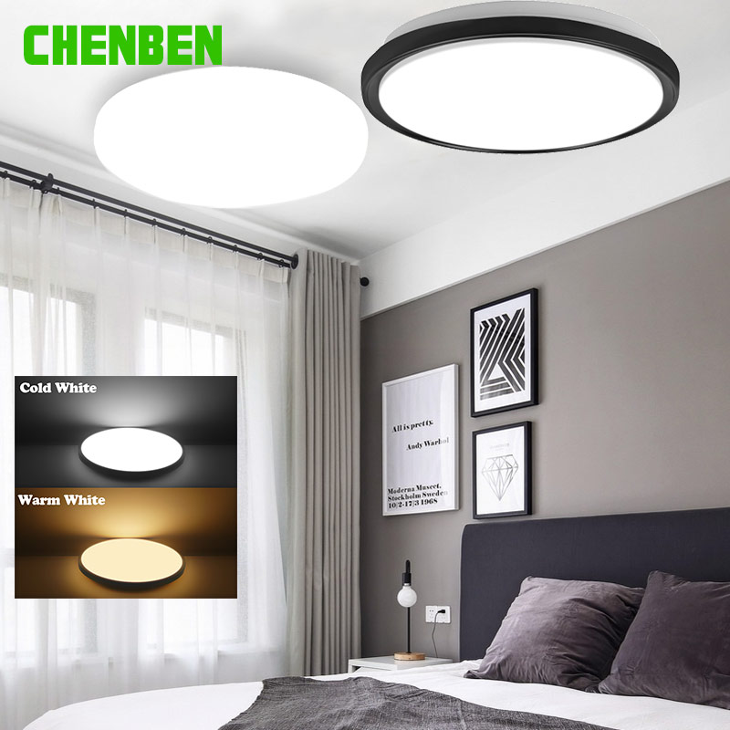 LED Ceiling Lights 220V Modern Led Ceiling Lamps 15W 16W 20W 30W 50W 22W Panel Lights Surface Mounted For Living Room Kitchen