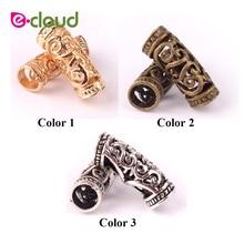 Micro-Rings-Tube Dreadlock Beads Hair-Braid Clip Cuff Braid-Hairstyling-Tool for 10pcs/Lot