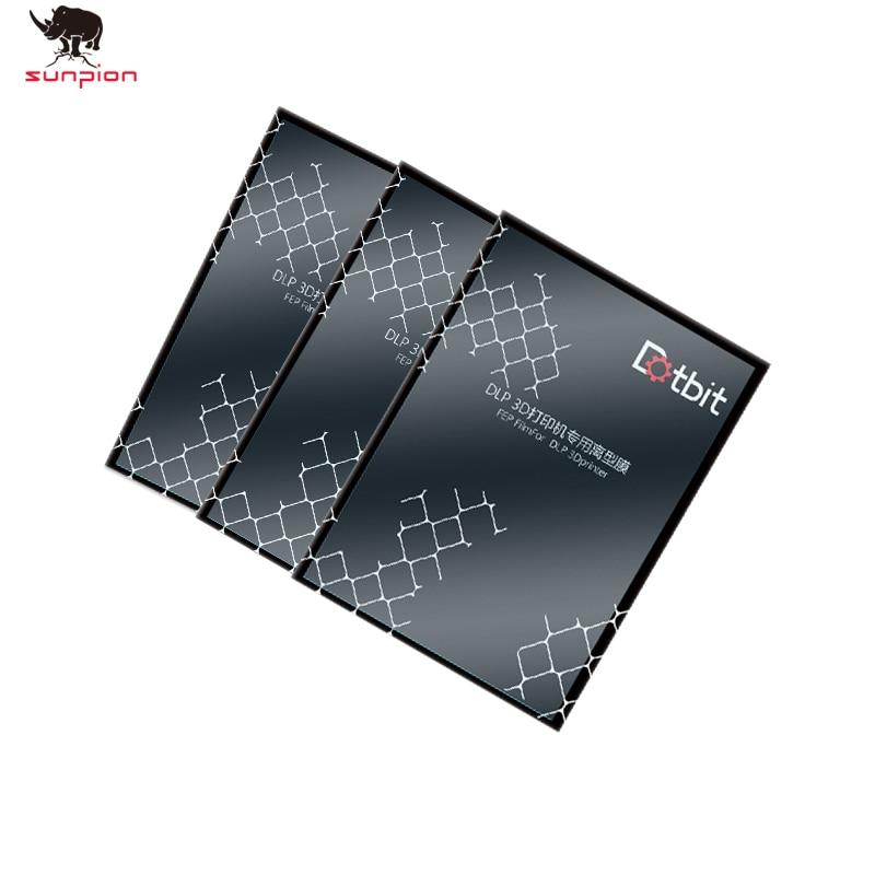 140x200mm SLA/LCD FEP Film 0.15-0.2mm Thickness For Photon Resin DLP  3D Printer For Elegoo Mars Wanhao Duplicator D7, Photon