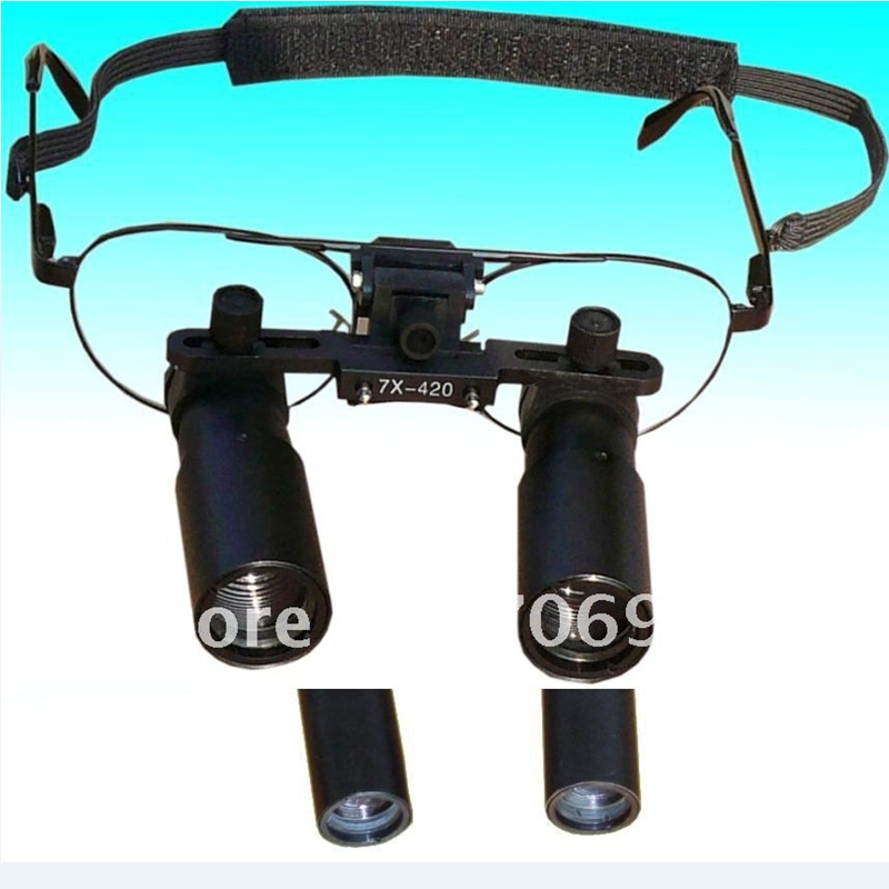 Profesionalios medicininės odontologinės lupenos 3X 4X 5X 6X 7X - Matavimo prietaisai - Nuotrauka 5