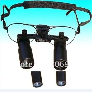 Image 5 - Professionelle Medizinische Dental Lupe 3X 4X 5X 6X 7X Chirurgische Binokularen ENT Kepler Optische Lupe Mikrochirurgie Vergrößerungs Brille