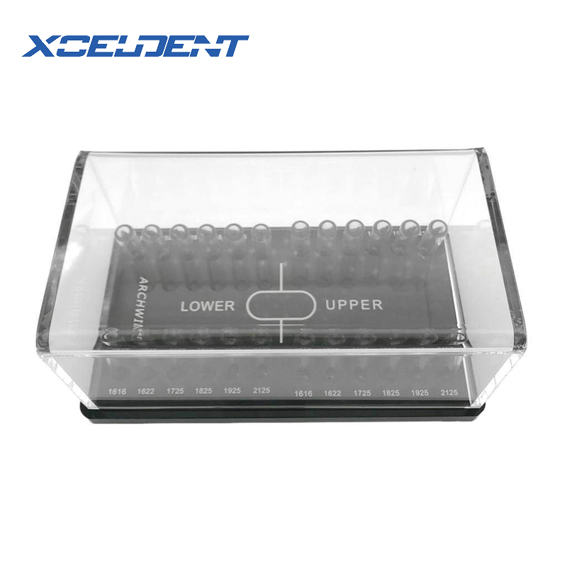 Image 3 - 1Pc Dental Orthodontic Round & Rectangular arch wire Holder Acrylic Organizer Holder Case for Orthodontic Preformed Wire-in Teeth Whitening from Beauty & Health