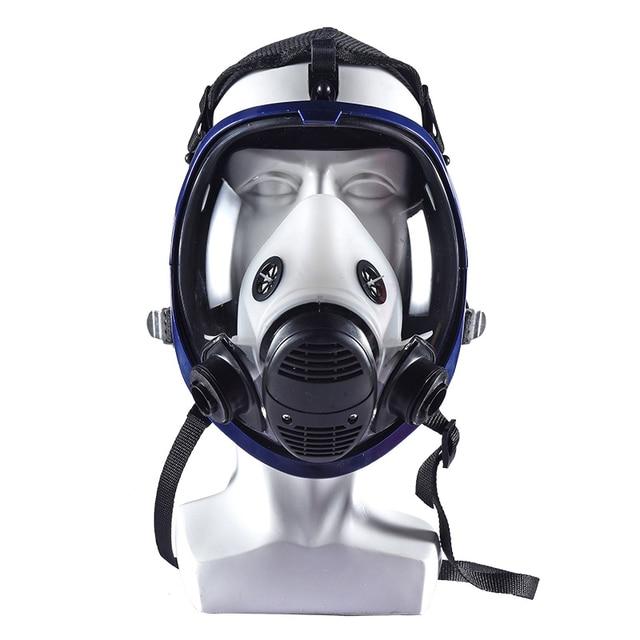 Фото полнолицевая маска для краски 6800 респиратор химическая с картриджем