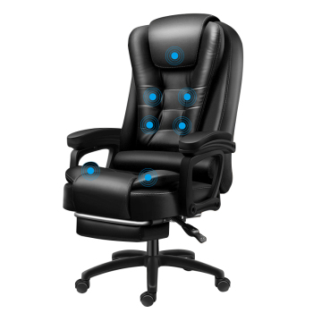 High Quality Boss Office Silla Gamer Poltrona Chair Can Lie Wheel Synthetic Leather With Footrest Ergonomics Office Furniture 2