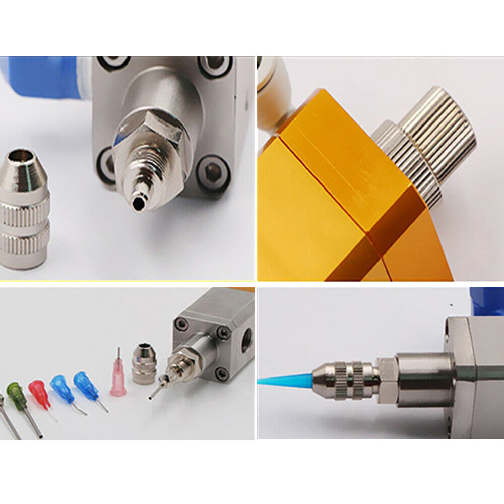 Suction dispensing valve Pneumatic Dispenser silicone anti-drip UV valve High