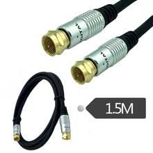 15 м ТВ антенна коаксиальный Соединительный кабель с разъемом