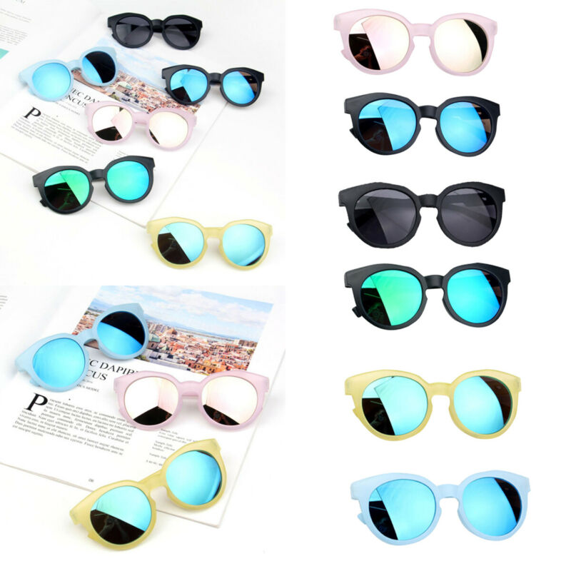 New Kids Sunglasses Boys Girls Baby Infant UV400 Eye-wear Shades Polarized Child Shades Gift Baby Accessories