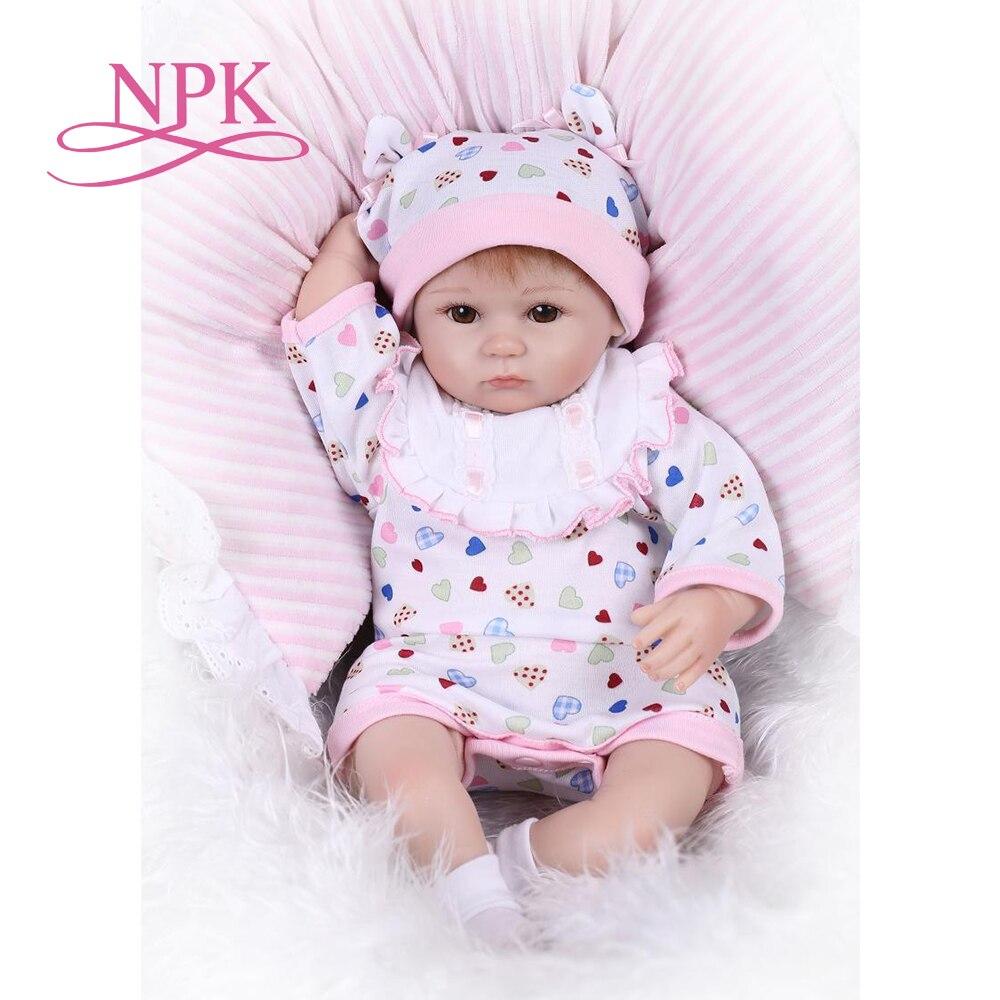 40 см reborn premium baby lovely lifelike baby doll reborn baby playing toys для детей Рождественский подарок bebes reborn